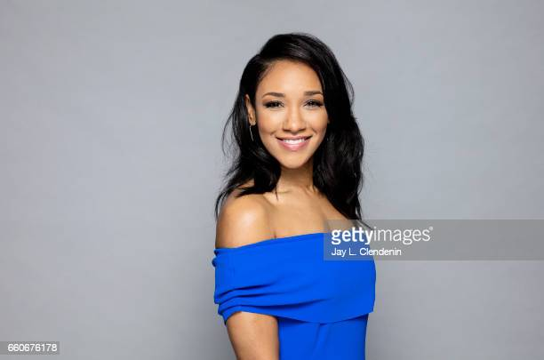 Actress Candice Patton from the CW's The Flash is photographed for Los Angeles Times on March 18 2017 in Los Angeles California PUBLISHED IMAGE...