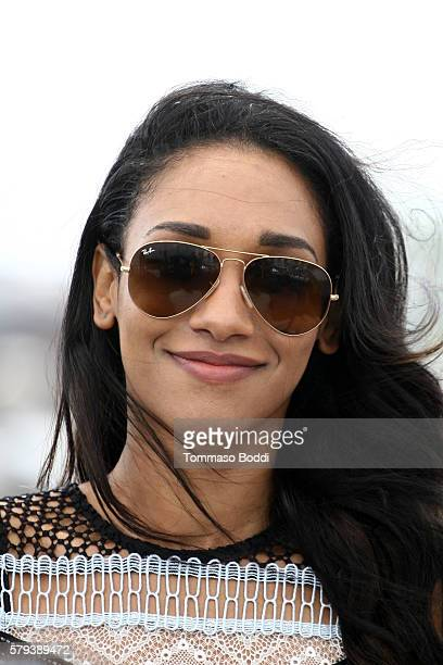 Actress Candice Patton of The Flash attends the IMDb Yacht at San Diego ComicCon 2016 Day Three at The IMDb Yacht on July 23 2016 in San Diego...