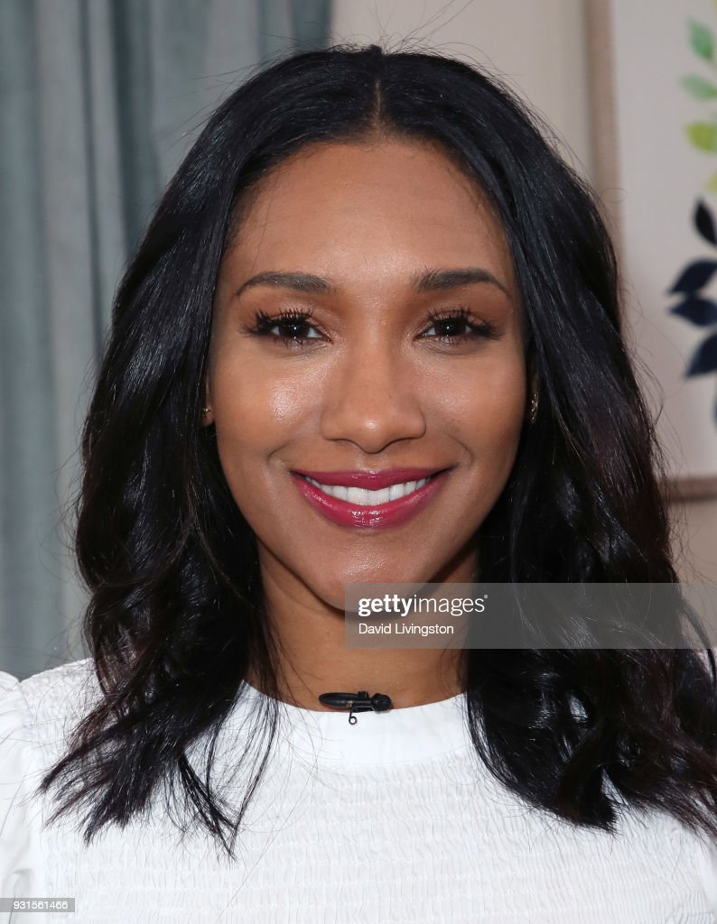 Actress Candice Patton visits Hallmark's 'Home & Family' at Universal Studios Hollywood on March 13, 2018 in Universal City, California.