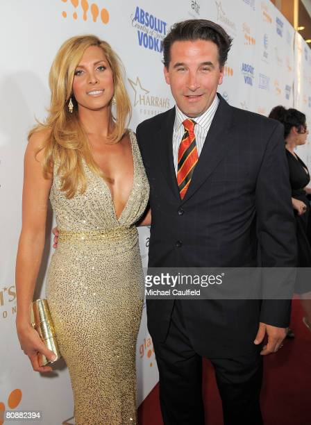 Actress Candis Cayne and actor William Baldwin arrives at the 19th Annual GLAAD Media Awards on April 25 2008 at the Kodak Theatre in Hollywood...