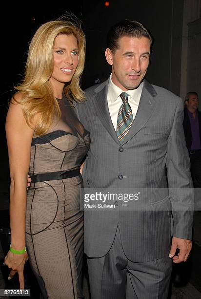 Actress Candis Cayne and actor William Baldwin attend the Dirty Sexy Money The Complete First Season DVD Launch at The Edison Lounge Downtown on...