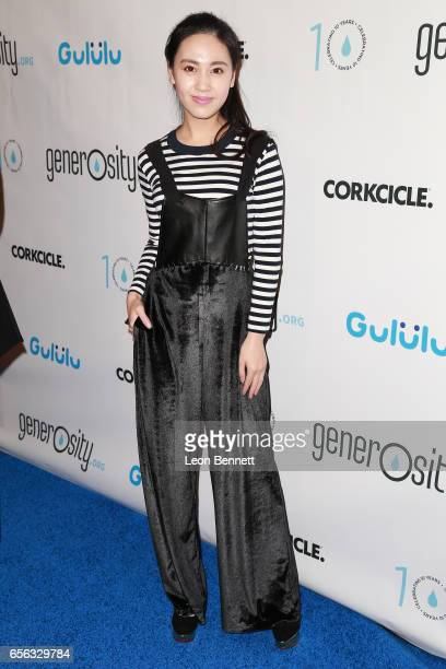 Actress Candy Wang arrives at the Generosityorg Fundraiser For World Water Day at the Montage Hotel on March 21 2017 in Beverly Hills California