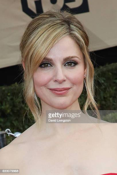 Actress Cara Buono attends the 23rd Annual Screen Actors Guild Awards at The Shrine Expo Hall on January 29 2017 in Los Angeles California