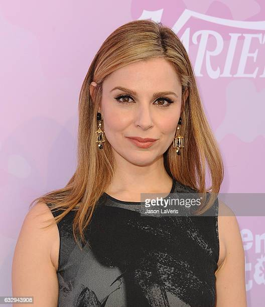 Actress Cara Buono attends Variety's celebratory brunch event for awards nominees benefitting Motion Picture Television Fund at Cecconi's on January...