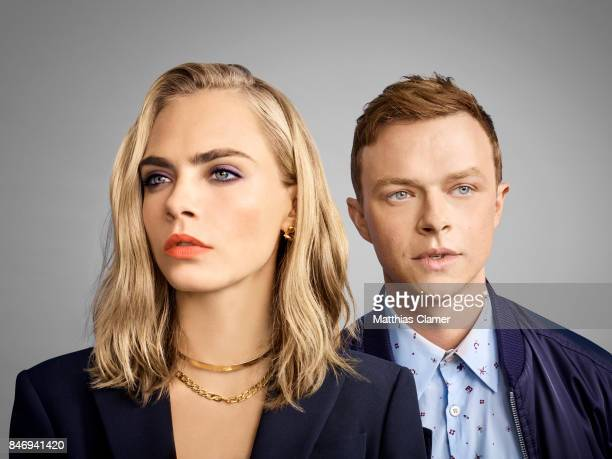 Actress Cara Delevingne and actor Dane DeHaan from 'Valerian and the City of a Thousand Planets' are photographed for Entertainment Weekly Magazine...