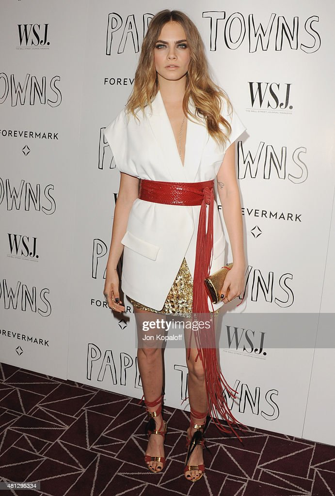 "Screening Of 20th Century Fox's ""Paper Towns"" - Arrivals"