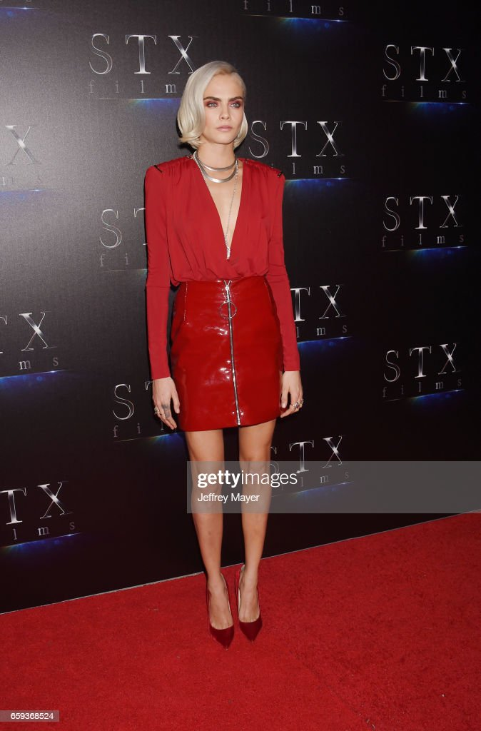 Actress Cara Delevingne at CinemaCon 2017 The State of the Industry: Past, Present and Future and STX Films Presentation at The Colosseum at Caesars Palace during CinemaCon, the official convention of the National Association of Theatre Owners, on March 28, 2017 in Las Vegas, Nevada.