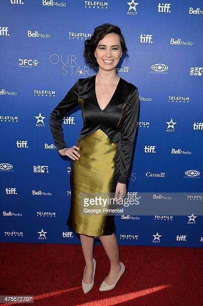 Actress Cara Gee attends Canada's Stars Of the Awards Season presented by TeleFilm on February 27 2014 in Los Angeles California