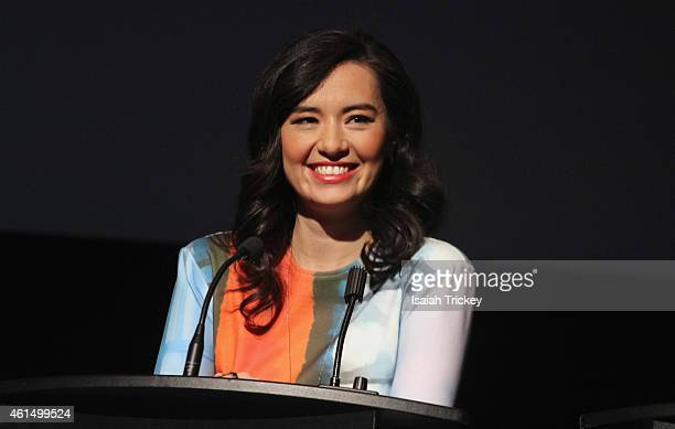 Actress Cara Gee attends the 2015 Canadian Screen Awards Press Conference at TIFF Bell Lightbox on January 13 2015 in Toronto Canada