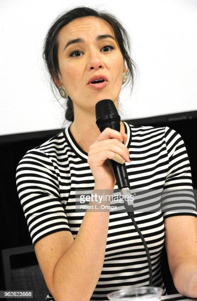 Actress Cara Gee attends the Science Of The Expanse Panel held at Sheraton Gateway Hotel on May 25 2018 in Los Angeles California