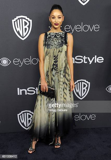 Actress Cara Santana arrives at the 18th Annual PostGolden Globes Party hosted by Warner Bros Pictures and InStyle at The Beverly Hilton Hotel on...