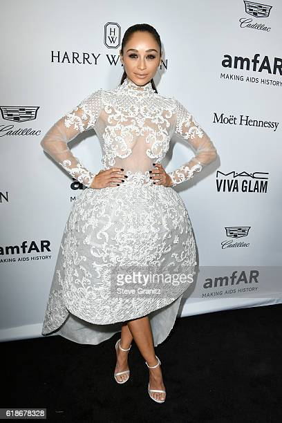 Actress Cara Santana attends amfAR's Inspiration Gala Los Angeles at Milk Studios on October 27 2016 in Hollywood California