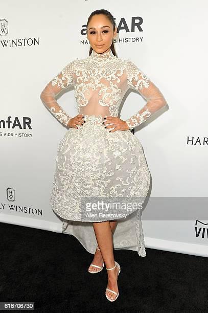 Actress Cara Santana attends amfAR's Inspiration Gala Los Angeles at Milk Studios on October 27 2016 in Hollywood California