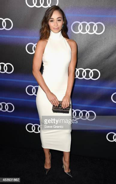 Actress Cara Santana attends Audi Emmy Week Celebration at Cecconi's Restaurant on August 21 2014 in Los Angeles California