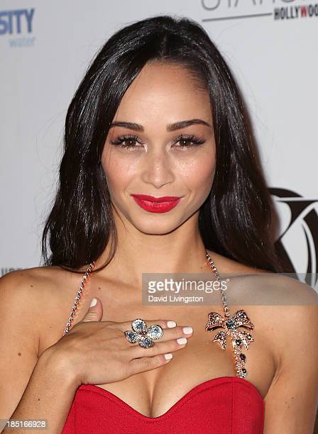 Actress Cara Santana attends the Kaiio's launch event at Station Hollywood at the W Hollywood Hotel on October 17 2013 in Hollywood California
