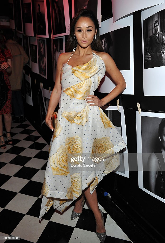 Actress Cara Santana attends the W Magazine celebration of the 'Best Performances' Portfolio and The Golden Globes with Audi and Dom Perignon at Chateau Marmont on January 7, 2016 in Los Angeles, California.