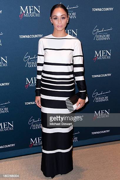 Actress Cara Santana attends Town and Country's 2013 Men of Measure at Bergdorf Goodman on September 10 2013 in New York City