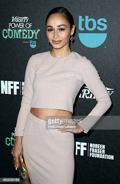 Actress Cara Santana attends Variety's 5th annual Power of Comedy presented by TBS benefiting the Noreen Fraser Foundation at The Belasco Theater on...