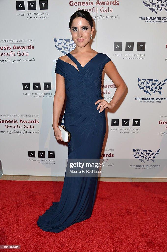 2013 Genesis Awards Benefit Gala - Arrivals
