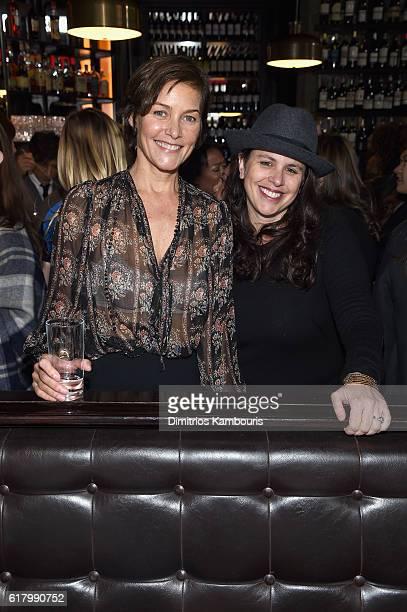 Actress Carey Lowell and director Tanya Wexler attend Through Her Lens The Tribeca CHANEL Women's Filmmaker Program Luncheon at Locanda Verde on...