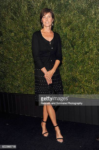 Actress Carey Lowell attends 11th Annual Chanel Tribeca Film Festival Artists Dinner at Balthazar on April 18 2016 in New York City
