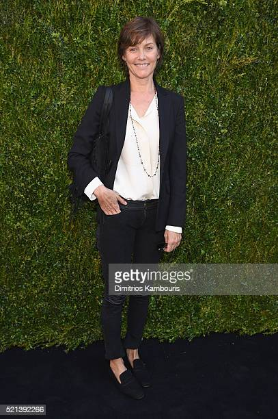 Actress Carey Lowell attends CHANEL Tribeca Film Festival Women's Filmmaker Luncheon on April 15 2016 in New York City