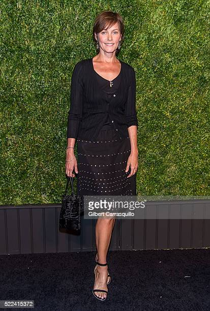 Actress Carey Lowell attends the 11th Annual Chanel Tribeca Film Festival Artists Dinner at Balthazar on April 18 2016 in New York City