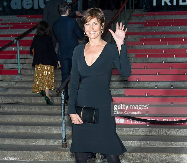 Actress Carey Lowell attends the 2015 Tribeca Film Festival Vanity Fair Party at State Supreme Courthouse on April 14 2015 in New York City