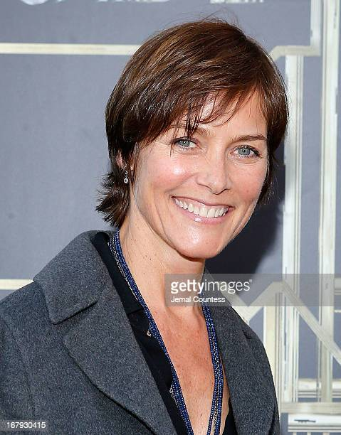 Actress Carey Lowell attends 'The Great Gatsby' world premiere at Avery Fisher Hall at Lincoln Center for the Performing Arts on May 1 2013 in New...