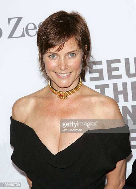 Actress Carey Lowell attends the Museum of the Moving Image salute to Alec Baldwin at Cipriani 42nd Street on February 28 2011 in New York City