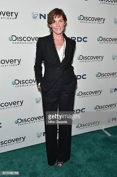 Actress Carey Lowell attends the Natural Resources Defense Council's 'NRDC's Night of Comedy' Benefit with Seth Meyers John Oliver George Lopez Mike...