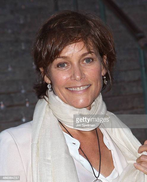 Actress Carey Lowell attends the Vanity Fair Party during the 2014 Tribeca Film Festival at The State Supreme Courthouse on April 23 2014 in New York...