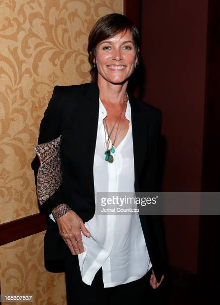 Actress Carey Lowell attends the 'Vice' New York Premiere After Party at Porter House on April 2 2013 in New York City