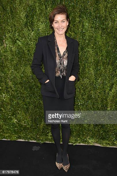 Actress Carey Lowell attends Through Her Lens The Tribeca CHANEL Women's Filmmaker Program Luncheon at Locanda Verde on October 25 2016 in New York...
