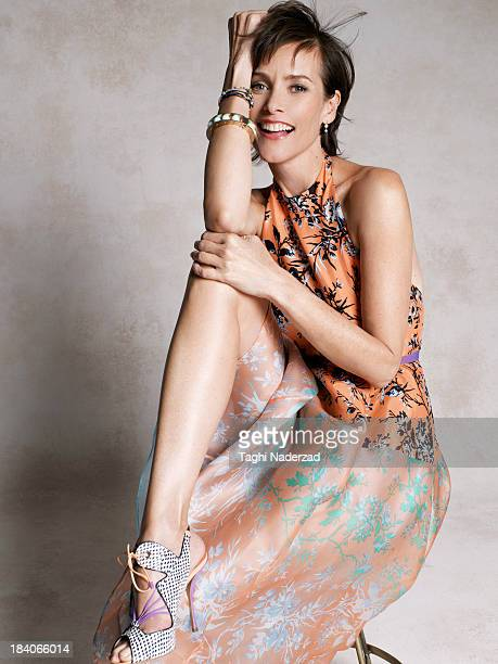 Actress Carey Lowell is photographed for Oprah Magazine on February 21 2013 in Los Angeles California PUBLISHED IMAGE