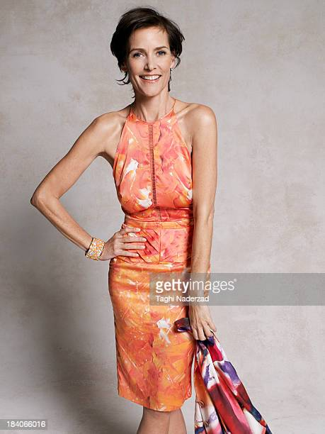 Actress Carey Lowell is photographed for Oprah Magazine on February 21 2013 in Los Angeles California