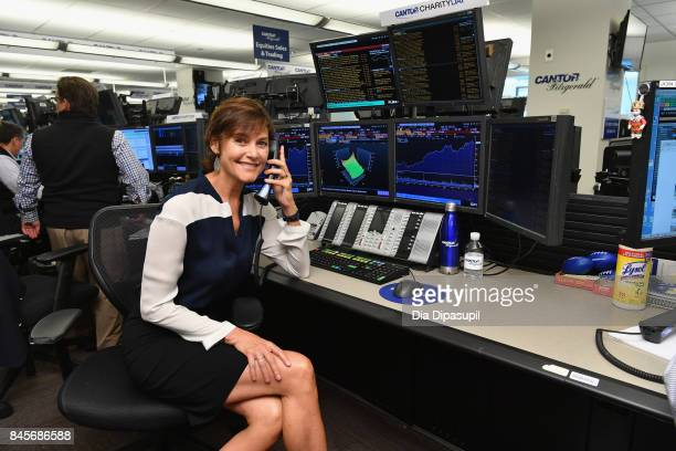 Actress Carey Lowell participates in Annual Charity Day hosted by Cantor Fitzgerald BGC and GFI at Cantor Fitzgerald on September 11 2017 in New York...