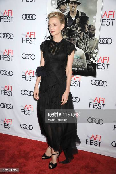 Actress Carey Muligan attends the screening of Netflix's Mudbound at the Opening Night Gala of AFI FEST 2017 Presented By Audi at TCL Chinese Theatre...