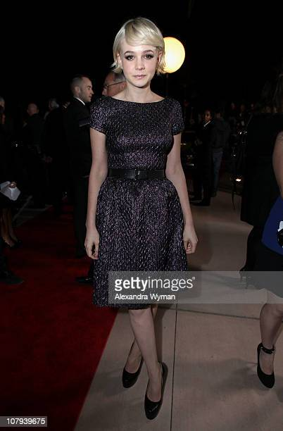 Actress Carey Mulligan arrives at the 22nd Annual Palm Springs International Film Festival Awards Gala at the Palm Springs Convention Center on...