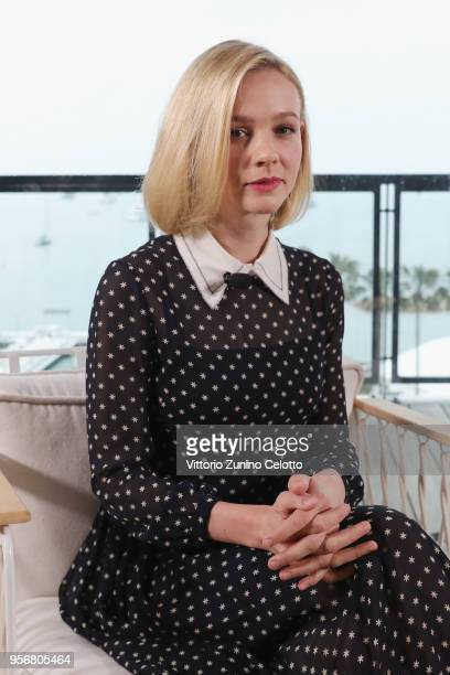 Actress Carey Mulligan attends Kering Talks Women In Motion at Majestic Barriere on May 10 2018 in Cannes France