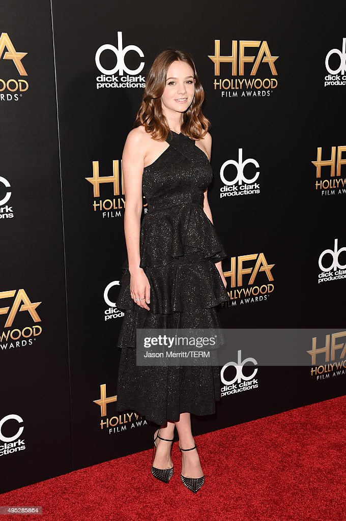 Actress Carey Mulligan attends the 19th Annual Hollywood Film Awards at The Beverly Hilton Hotel on November 1, 2015 in Beverly Hills, California.