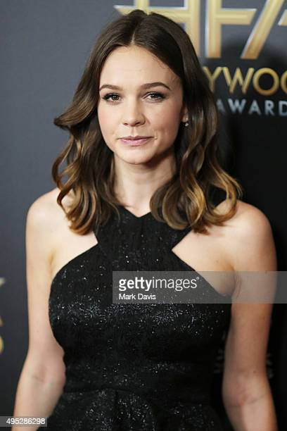 Actress Carey Mulligan attends the 19th Annual Hollywood Film Awards at The Beverly Hilton Hotel on November 1 2015 in Beverly Hills California