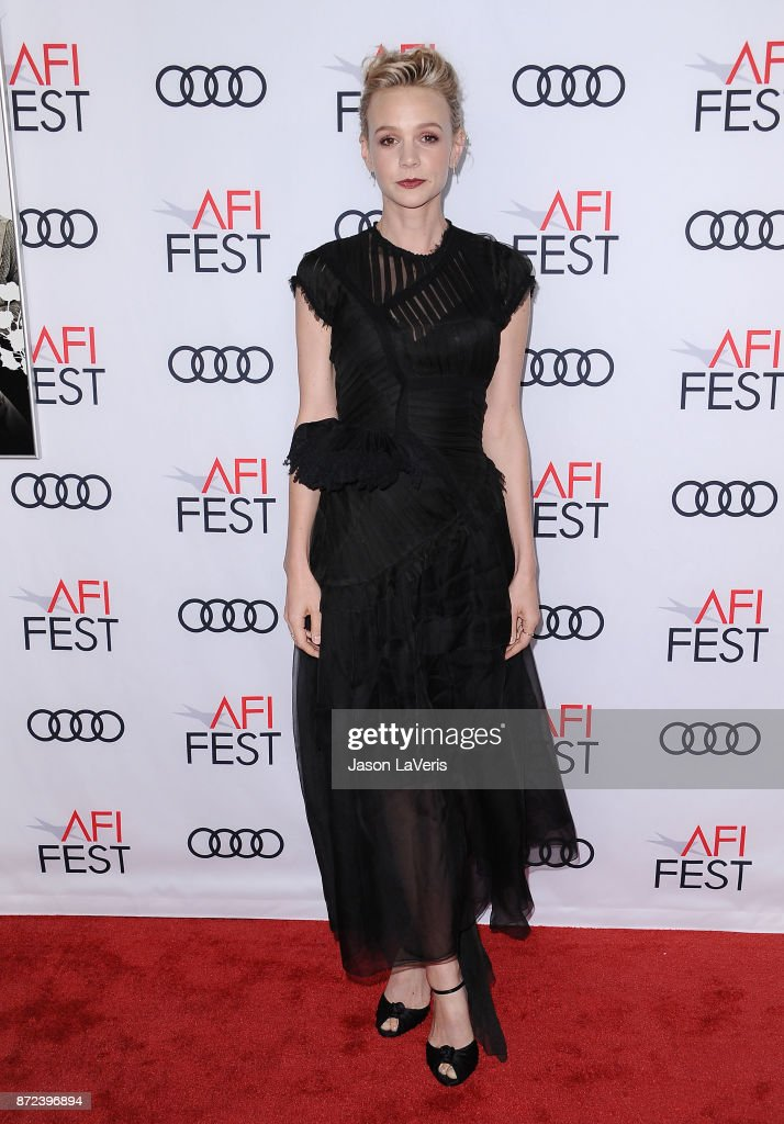 Actress Carey Mulligan attends the 2017 AFI Fest opening night gala screening of 'Mudbound' at TCL Chinese Theatre on November 9, 2017 in Hollywood, California.