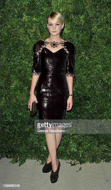 Actress Carey Mulligan attends the 7th Annual CFDA/Vogue Fashion Fund awards at Skylight SOHO on November 15, 2010 in New York City.
