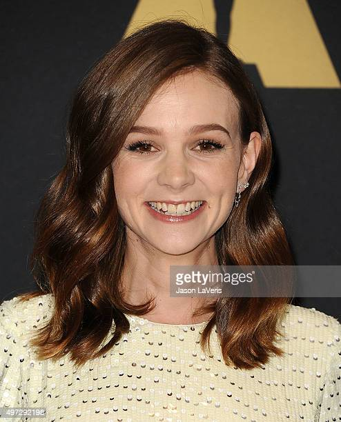 Actress Carey Mulligan attends the 7th annual Governors Awards at The Ray Dolby Ballroom at Hollywood Highland Center on November 14 2015 in...