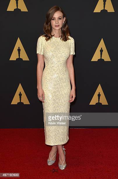 Actress Carey Mulligan attends the Academy of Motion Picture Arts and Sciences' 7th annual Governors Awards at The Ray Dolby Ballroom at Hollywood...