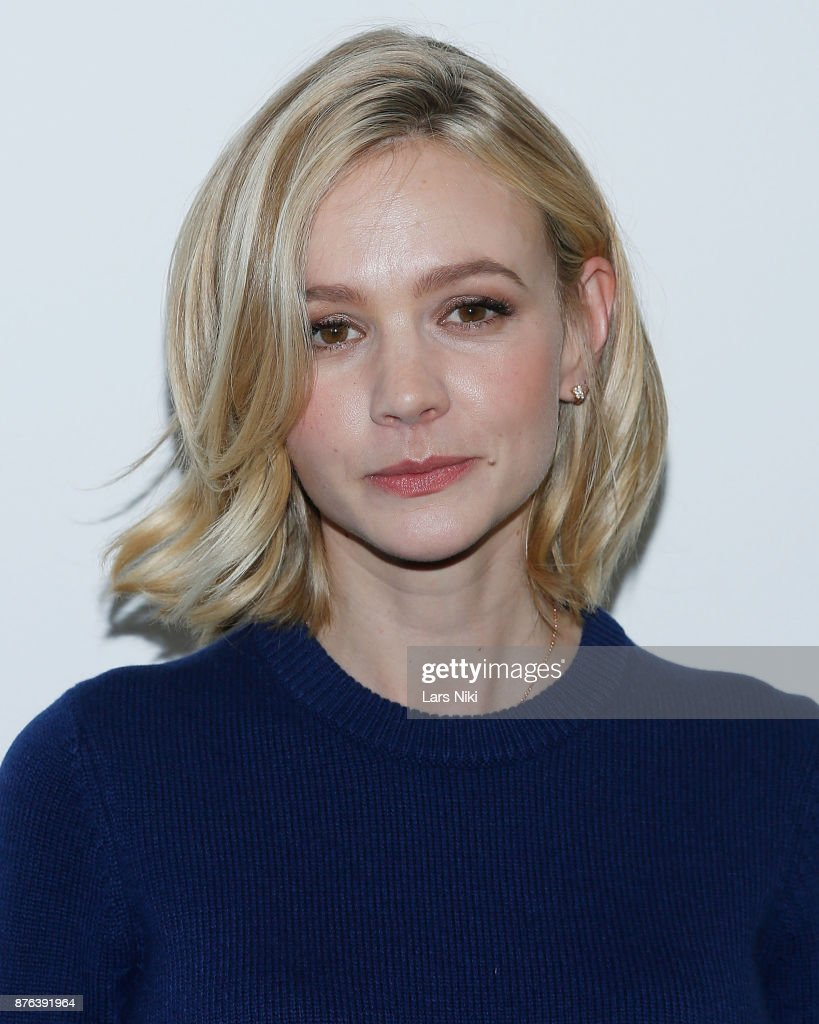 Actress Carey Mulligan attends The Academy of Motion Picture Arts & Sciences Official Academy Screening of Mudbound at the MOMA Celeste Bartos Theater on November 17, 2017 in New York City.