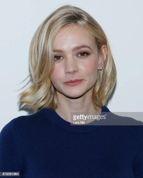 Actress Carey Mulligan attends The Academy of Motion Picture Arts Sciences Official Academy Screening of Mudbound at the MOMA Celeste Bartos Theater...