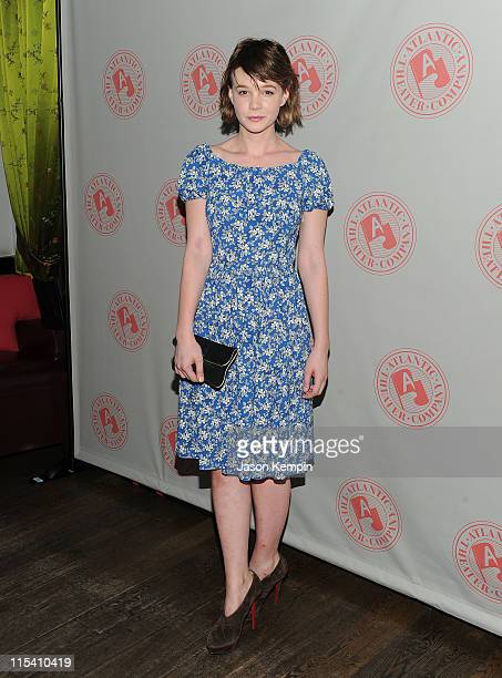 Actress Carey Mulligan attends the after party for the opening night of Through A Glass Darkly at the Chinatown Brasserie on June 6 2011 in New York...