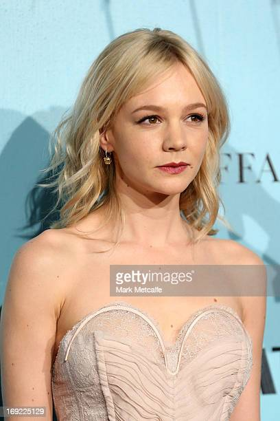 Actress Carey Mulligan attends the 'Great Gatsby' Australian premiere at Moore Park on May 22 2013 in Sydney Australia
